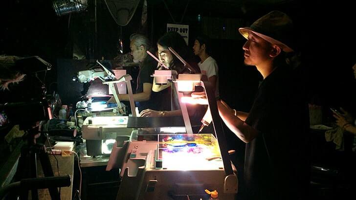 リキッドライトと和楽器の融合!LIQUID LIGHT CIRCUS